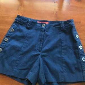 EUC Anthropologie shorts w/bottoms down the sides